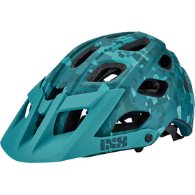 IXS Trail RS Evo Camo Ltd. Edition Helmet lagoon camo